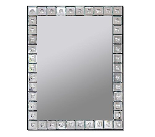 RCH Hardware Decorative Artisan Unique Handmade High-End Rectangular Designer Wall Mirror | 20.25