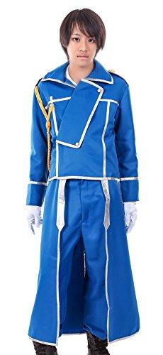 De-Cos Fullmetal Alchemist State Military Hawkeye Riza Roy Mustang (Fullmetal Alchemist Riza Hawkeye Costume)