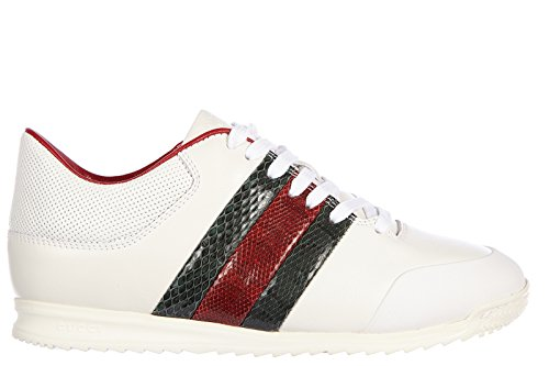 3b67d314e3d Gucci women s shoes leather trainers sneakers miro soft moorea white - Buy  Online in UAE.