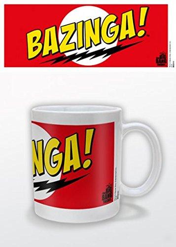 Big Bang Theory - Bazinga Red Ceramic Mug - Bazinga Travel Mug