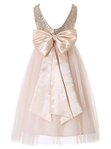 Buy dress with a bow - 5