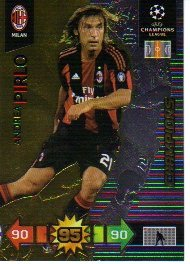 Adrenalyn XL Champions League 2010/11 - CHAMPIONS - Pirlo [Toy]