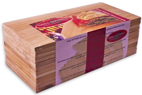 Cedar Grilling Planks - 12 Pack by Grill Gourmet
