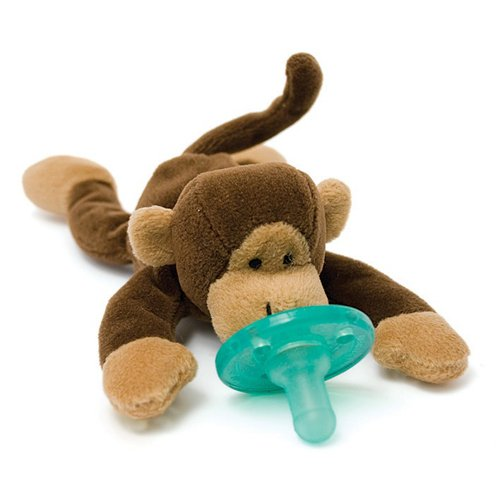 Wubbanub Infant Plush Toy Pacifier - Monkey W32430