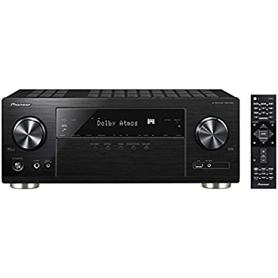Pioneer 7 2 Receiver with Wi-Fi and Bluetooth Black