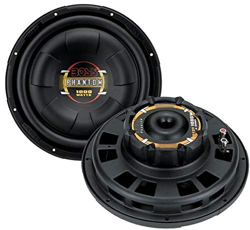 "BOSS D12F 12"" 2000W Car Audio Shallow Mount Subwoofers Power Subs Woofers"