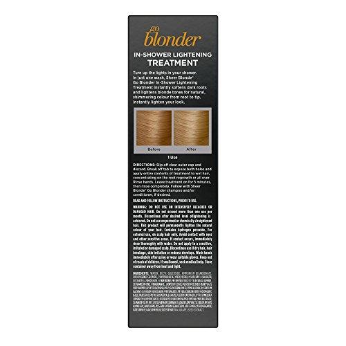 John Frieda Sheer Blonde Go Blonder In-Shower Lightening Treatment, 1.15 Ounces by John Frieda (Image #1)