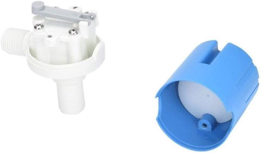 Fittings 1//2 Automatic Water Float Valve Water Level Control Switch Tank Tower Pool Traditional Floating Ball Valve Fittings BAIJIAXIUSHANG-TIES Valves