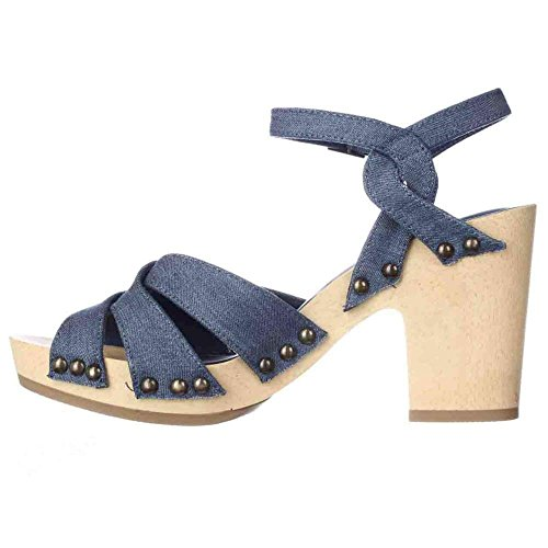 American Rag - Sandalias de vestir para mujer Denim
