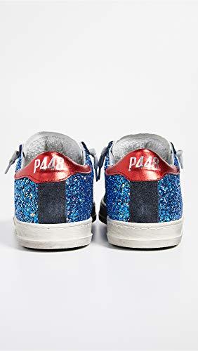 Zapatillas Royal Mujer Para Cuero P448 De Glitter zRpdqxf
