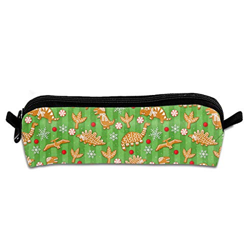 BA Ixiaoyao Cracker Dinosaurs School Pen Pouch Office Zippered Pencil Cases Holder Women Makeup ()