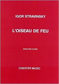 ストラヴィンスキー: 管弦楽組曲 「火の鳥」/1919年版/チェスター社/全曲版スコア