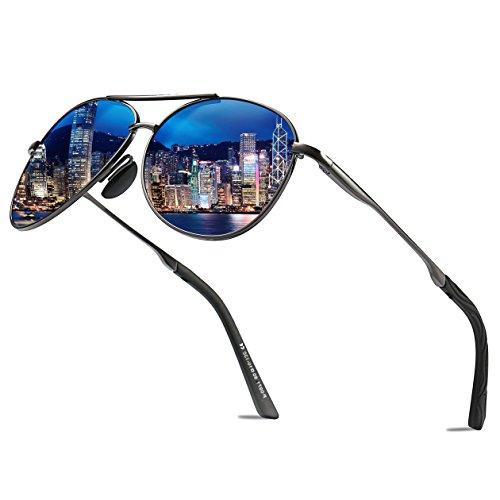 Aviator Polarized Sunglasses for Men Women Designer Pilot Style Driving Mens Sunglasses