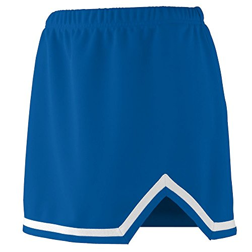 [Augusta Sportswear WOMEN'S ENERGY SKIRT S Royal/White] (Plus Size Cheerleading Uniforms)