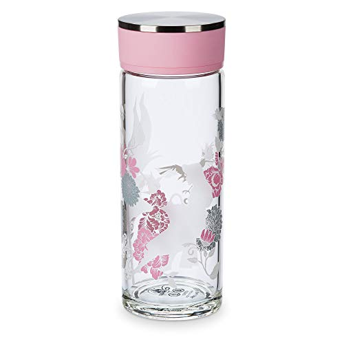 Disney Sleeping Beauty Glass Water Bottle - 60th Anniversary No Color