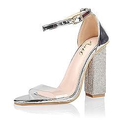 Women's Fashion Chunky High Heel Sandal