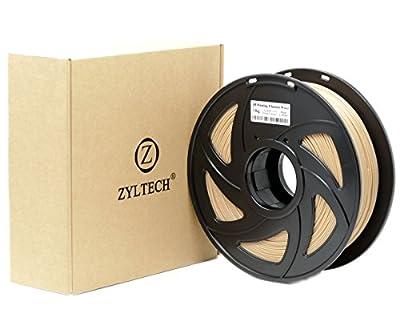 ZYLtech 3D Printer Filament PLA 1.75 mm 1 kg/2.2 lbs Wood