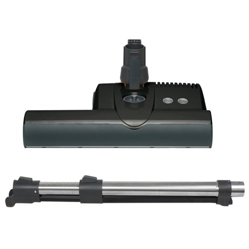 Sebo ET-2 Powerhead with Wand for Central Vacuum (Black)