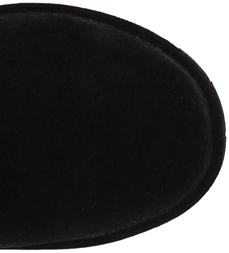 Willow Women's Ii BEARPAW Black Boots Rubber Wool Suede ZTqRqx