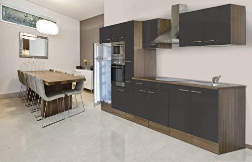 respekta Montaje Cocina Bloque de cocina 360 cm Roble York ...