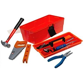 home depot toy tool box set for kids toys games. Black Bedroom Furniture Sets. Home Design Ideas