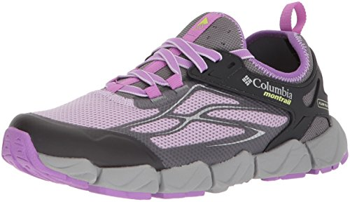 Columbia Montrail Women's Fluidflex X.S.R. Trail Running Shoe, Phantom Purple, Nappa Green, 5.5 B US (Nappa Footwear Stretch)