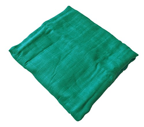 Solid Muslin Cotton Blanket Green product image