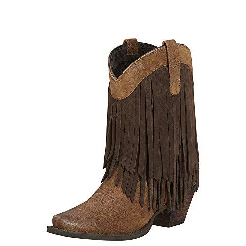ARIAT Women's Gold Rush Western Boot Antique Mocha Size 6 B/Medium Us