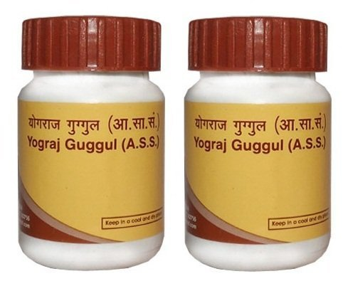 Patanjali Divya Yograj Guggul - Arthritis & Joint Pain (2x40) Gms