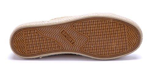 Schuhtempel24 Damen Schuhe Low Sneaker Flach Cut Out Gold
