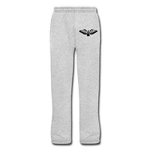 Leonards Workout Suits - Juice Forus Men's Tim Basketball Duncan Workout Pants Ash 3X