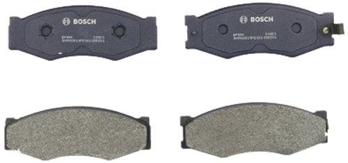 (Bosch BP266 QuietCast Premium Semi-Metallic Disc Brake Pad Set For Select Infiniti M30; Nissan 720, 300ZX, D21, Maxima, Multi, Pickup, Stanza; Front)