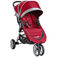 Baby Jogger City Mini 3W Single Stroller (Crimson/Gray) + $30 Kohls Cash