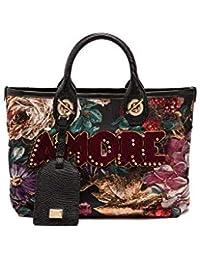 Women's BB6590AV1398B015 Black Polyester Handbag