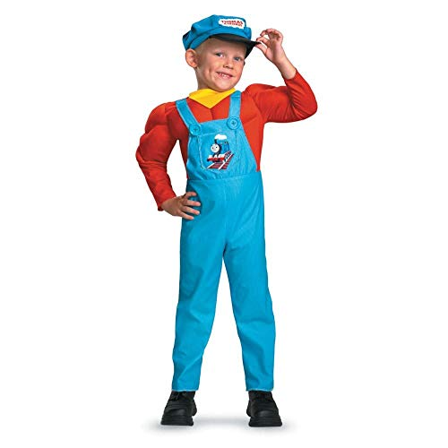 Thomas the Tank Engine Classic Muscle Costume - Small (2T) -