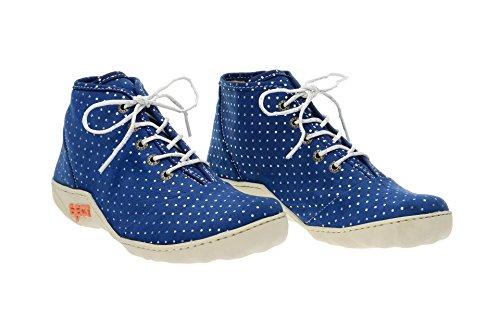 Femme 1 Classique À Eject 17068 Lacets Bleu Chaussures Et Coupe 8AAPxwq5