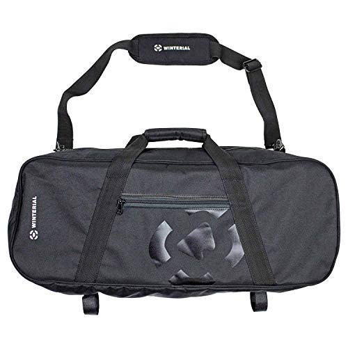 Winterial Premium Snowshoe Bag with Exterior Pocket and Pole Straps for Easy Storage and Transportation, 28 x 10 x 7.5 , Top Carry Handle with Removable Shoulder Strap for Versatile Carry Options