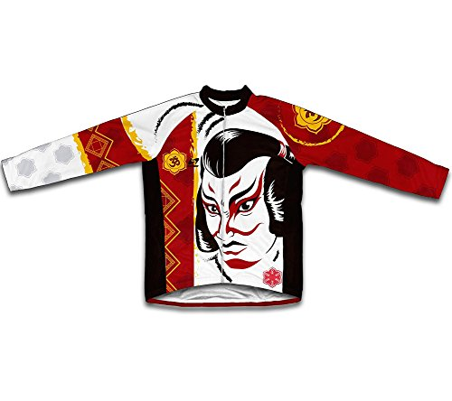 ScudoPro Kabuki Long Sleeve Cycling Jersey for Men for sale  Delivered anywhere in USA