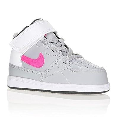 fda63e1748f31 Nike Baskets Priority Mid TD Bébé Fille  Amazon.fr  Chaussures et Sacs