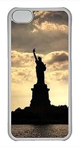 iPhone 5c case, Cute Statue Of Liberty iPhone 5c Cover, iPhone 5c Cases, Hard Clear iPhone 5c Covers
