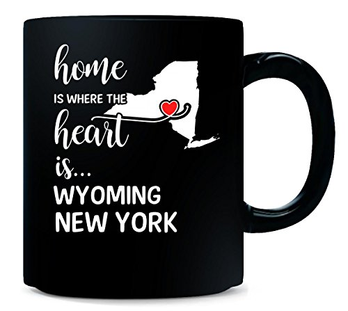 Wyoming County New York Is Where My Heart Is Gift - Mug