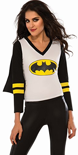 Superhero Dance Costumes (Rubie's Women's DC Superheroes Batgirl Sporty Tee, Multi,)