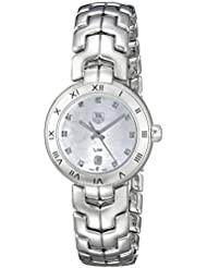 TAG Heuer Womens WAT1417.BA0954 Analog Display Quartz Silver Watch