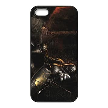 Dark Souls iPhone 5 5s Cell Phone Case Black Rnhd: Amazon.es ...