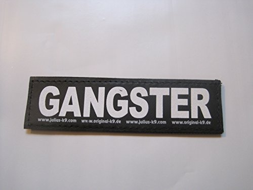 gangster-large-package-of-2-julius-k9-labels-for-k-9-harnesses
