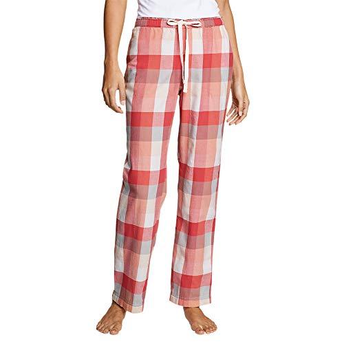 Eddie Bauer Women's Stine's Favorite Flannel Sleep Pants, Berry Regular S ()