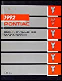 1992 Pontiac Bonneville SE Repair Shop Manual Original