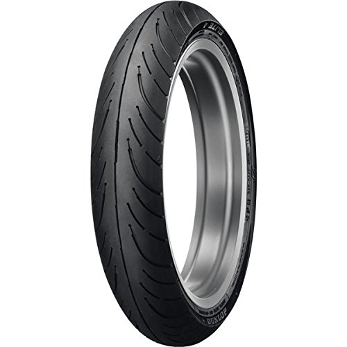 Dunlop Elite 4 130/70B18 Front Tire - Black 4 Elite