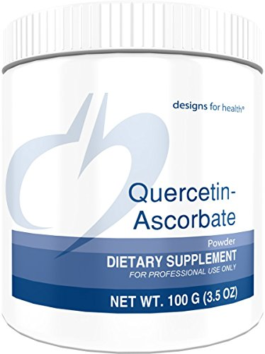 Designs for Health - Quercetin-Ascorbate - 500mg Quercetin + Vitamin C for Histamine Balance Support, 100 Grams by designs for health