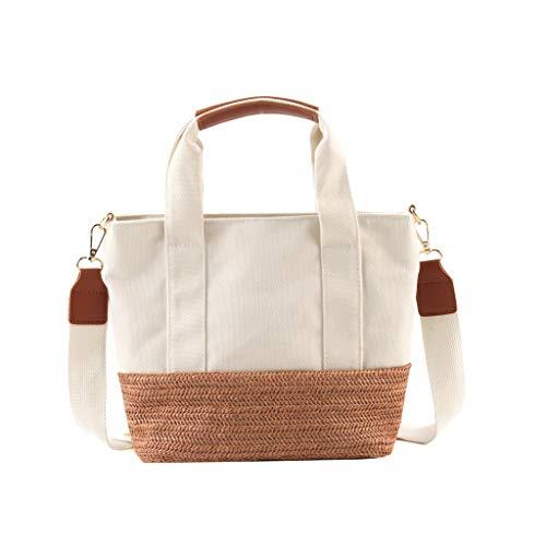 - Weekender Bags for Women,YuhooSUN Handle Handbag Canvas Beach Bag Shoulder Bag Messenger Bags Crossbody Bags Brown